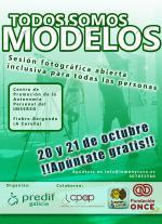 """PREDIF Galicia ofrecerá unha sesión fotográfica aberta e inclusiva os días 20 e 21 de outubro a través do proxecto """"Todos somos modelos"""""""